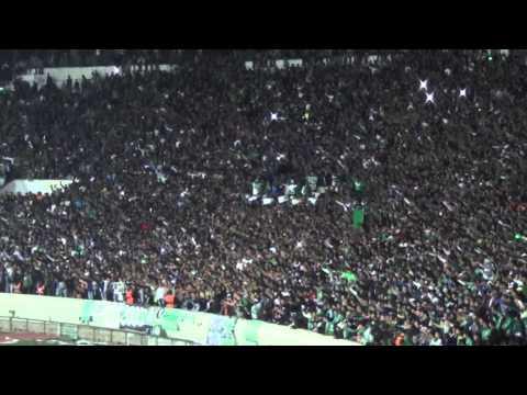 جمهور الرجاء يهتز نصرة لرسول الله في لقاء الصفاقسي التونسي