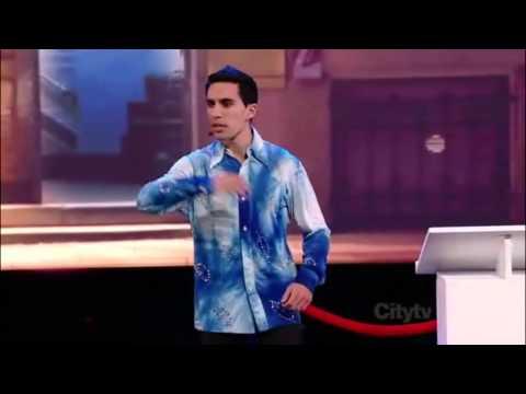 Canada's Got Talent comedian / impressions semi finals Laheeb Quddusi