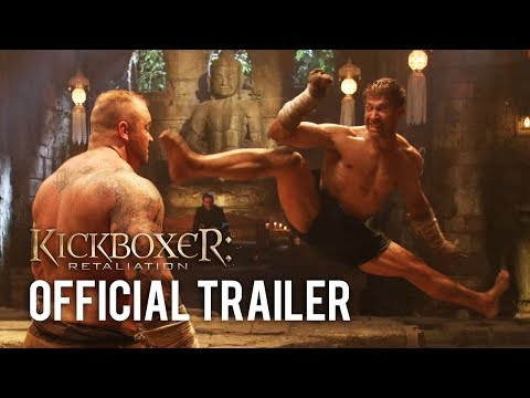 Kickboxer: Retaliation OFFICIAL TRAILER (Jean-Claude Van Damme, Mike Tyson)