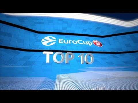 7DAYS EuroCup Regular Season Round 2 Top 10 Plays