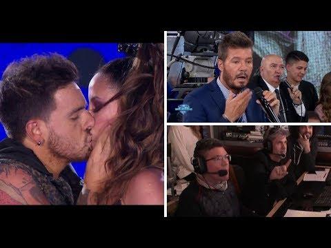 La coreo hot de Lourdes Sánchez y Fede Bal que terminó con un tremendo beso