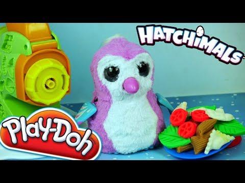 Play Doh Kuchnia • Makaronowa Zabawa • Obiad dla Maluszka • Hatchimals • Bajki i Kreatywne zabawki