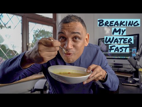 Breaking My 25 Day Water Fast | Body Transformation 2019
