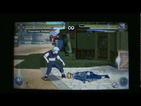 Naruto Ultimate Ninja Heroes 3 Possesed Kabuto Moveset