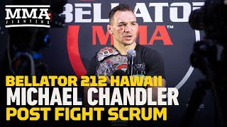 Video Bellator 212: If Michael Chandler Could Choose Anyone, Khabib Nurmagomedov Would Be Next MP3, 3GP, MP4, WEBM, AVI, FLV Desember 2018