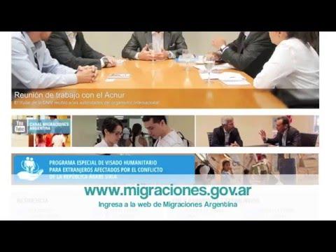 Cita en migraciones argentina