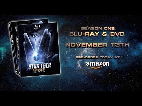 خدمة CBS للترفيه المنزلي تطلق الموسم الأول من Star Trek: Discovery على أسطوانات رقمية