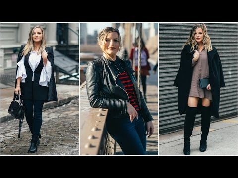 MY TOP 3 NYFW Outfits & Hairstyles! | Casey Holmes