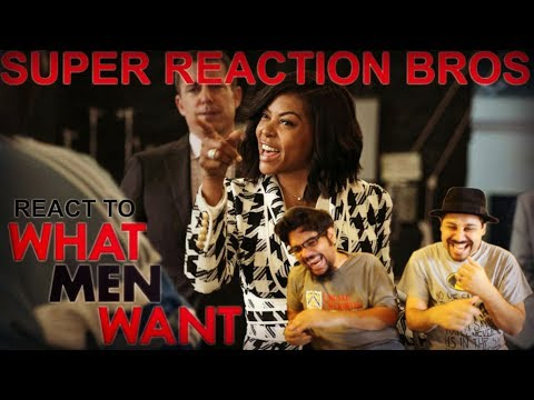 SRB Reacts to What Men Want Red Band Trailer