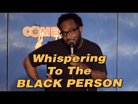Whispering To The Black Person
