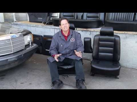 Putting Better or Newer Seats in Your Mercedes Benz: Example W126 300SDL