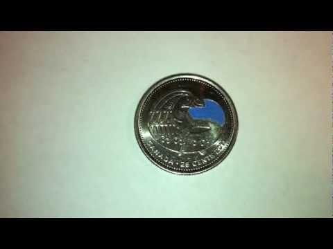 Rare Blue Orca Canadian Quarter Found!