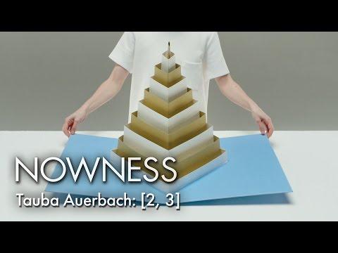 Tauba Auerbach s 2 3  Impressive Popup Books