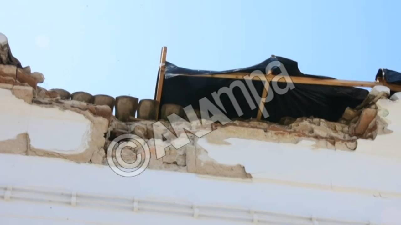 Kαταρρέει η Ιστορική εκκλησία του Αγίου Νικολάου στο Ναύπλιο