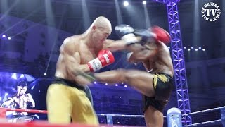 "DAY OF DESTRUCTION-TV presents the World Championship of the WLF between ""The Monk"" Yi Long from China versus Muay ..."