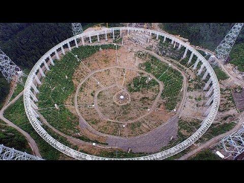 Κίνα: Κατασκευάζεται το μεγαλύτερο ραδιοτηλεσκόπιο του κόσμου