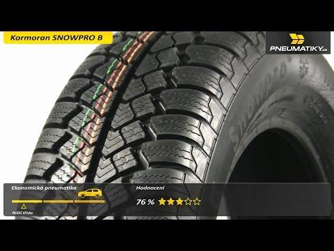 Youtube Kormoran SNOWPRO B 195/65 R15 91 T Zimní