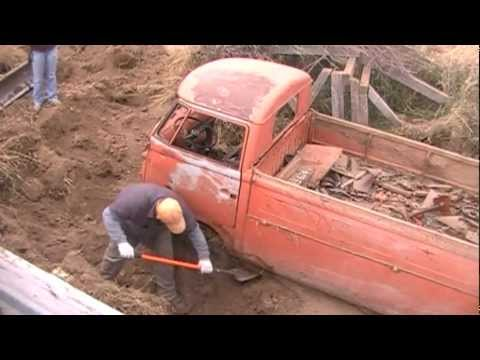 volkswagen - Took the Syncro for a Sunday drive and spotted an old single cab in the foothills outside Idaho Falls. This is nine hours worth of digging condensed into a 1...