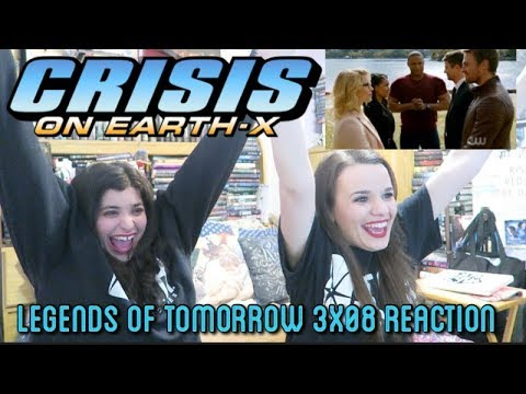"""LEGENDS OF TOMORROW 3X08 """"CRISIS ON EARTH X PART 4"""" (PART 2)"""