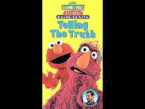Opening and Closing to Sesame Street: Kids' Guide to Life: Telling the Truth 1997 VHS (1998 Reprint)