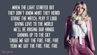 Video Ellie Goulding - Burn (Lyrics) MP3, 3GP, MP4, WEBM, AVI, FLV Februari 2018