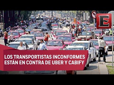 Taxistas mexicanos amenazan con paro indefinido