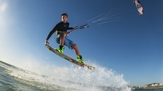 Kiteboarder's POV - Red Bull King of the Air 2014