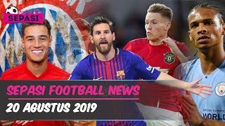 Video MU Gagal Menang 😭 Coutinho Resmi ke Munchen ⚽ Nominasi Puskas Award 2019 🏆 Berita Bola MP3, 3GP, MP4, WEBM, AVI, FLV September 2019