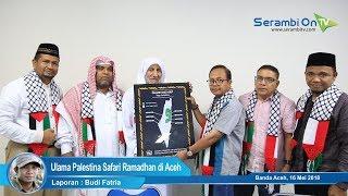 Tiga Ulama Palestina Safari Ramadhan di Aceh