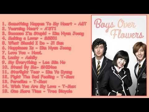 Boys Over Flower OST Full SoundTrack 🌞🌞🌞韓国版花より男子OST Hit