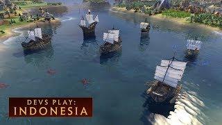 Video CIVILIZATION VI: Devs Play Indonesia (New DLC) MP3, 3GP, MP4, WEBM, AVI, FLV Maret 2018