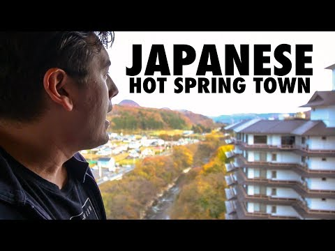 Staying at 1,000 Year Old Japanese Hot Spring Resort