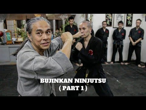 Bujinkan Ninjutsu - Sensei James Lee (Part 1) - THE MARTIAL MAN