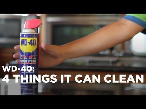 versa del lubrificante sul pavimento: ecco un uso alternativo e valido!