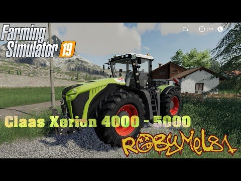Claas Xerion 4000 - 5000 v1.0.0.0
