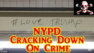 Love Trump Graffiti Outlaw Caught After NYPD Builds A Wall