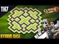 New Epic  TH7 HYBRID/TROPHY[defense] Base 2018!! COC Town Hall 7 Hybrid Base Design - Clash of Clans