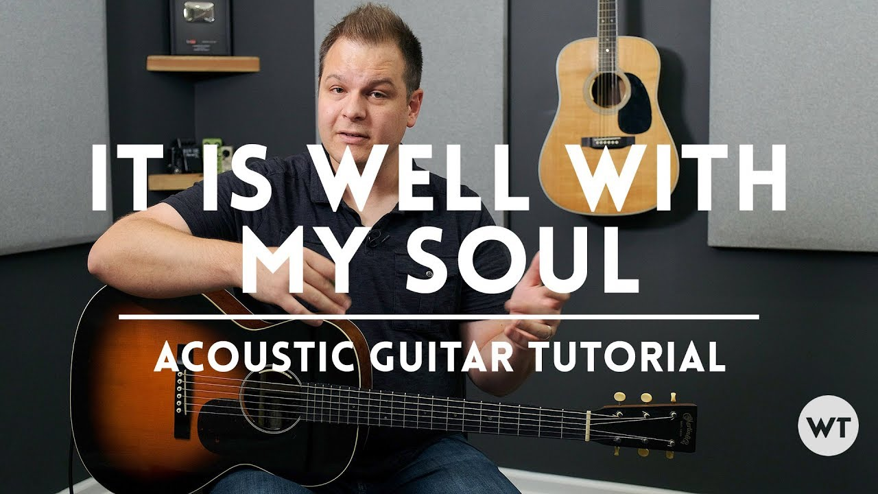 It Is Well With My Soul – Tutorial (acoustic guitar)