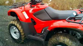 10. 2010 Honda FourTrax Rancher 4x4 ES with EPS (1/2/11)