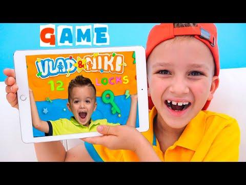 Vlad và Niki 12 Khóa   trò chơi mới cho trẻ em