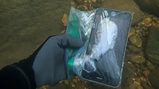 River Hunting: Found 4 iPhones, 2 Cameras, Wallet, and lots of MONEY! | Nugget Noggin