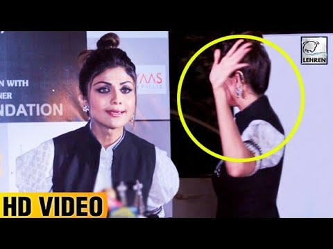 Shilpa Shetty IGNORES Question On Sonam Kapoor's W