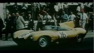 Jaguar History - Last appearance of the D-Type on Le Mans  (1957)