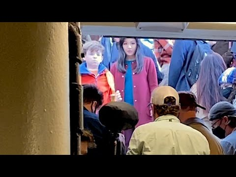 Constance Wu Filming Scenes In NYC Subway For Amazon Series The Terminal List