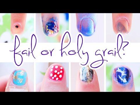 Beauty Hacks: Fail or Holy Grail? ♥ Nail Art | Ellko