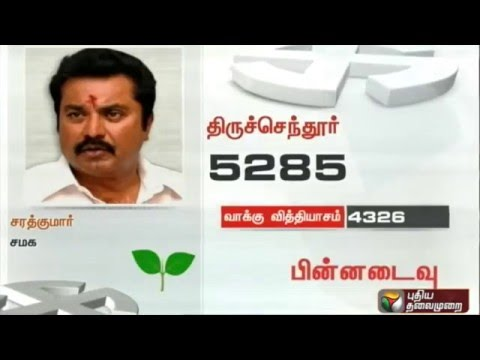 Setback-for-ADMK-candidate-Sarathkumar-in-Thiruchendur-constituency