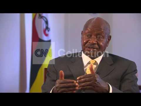 UGANDA PRES HOMOSEXUALS ARE DISGUSTING