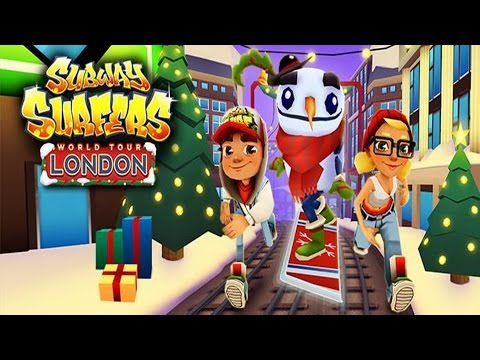 Subway Surfers: London - Sony Xperia Z2 Gameplay (видео)