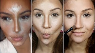 Prepare sua pele com as técnicas da Kim Kardashian - Por Bianca Andrade. - YouTube
