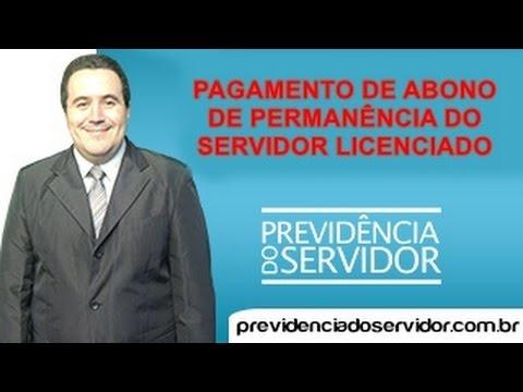 Quem paga o Abono do Servidor licenciado?